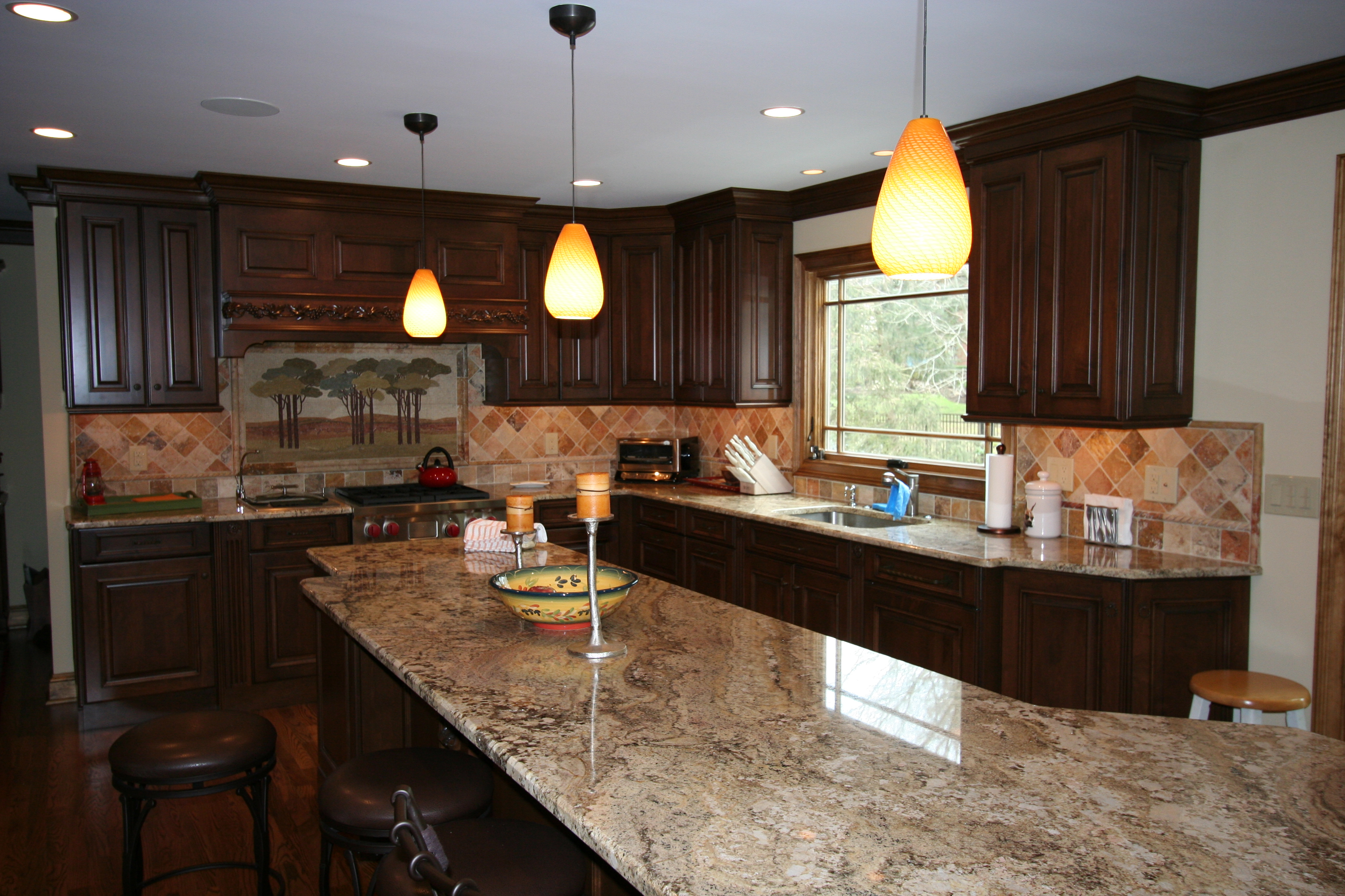 Custer Kitchens Custom Kitchen Cabinets From Brookhaven Installed In New Kitchen
